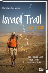 Buch Israel Trail mit Herz bei Peter Henderson