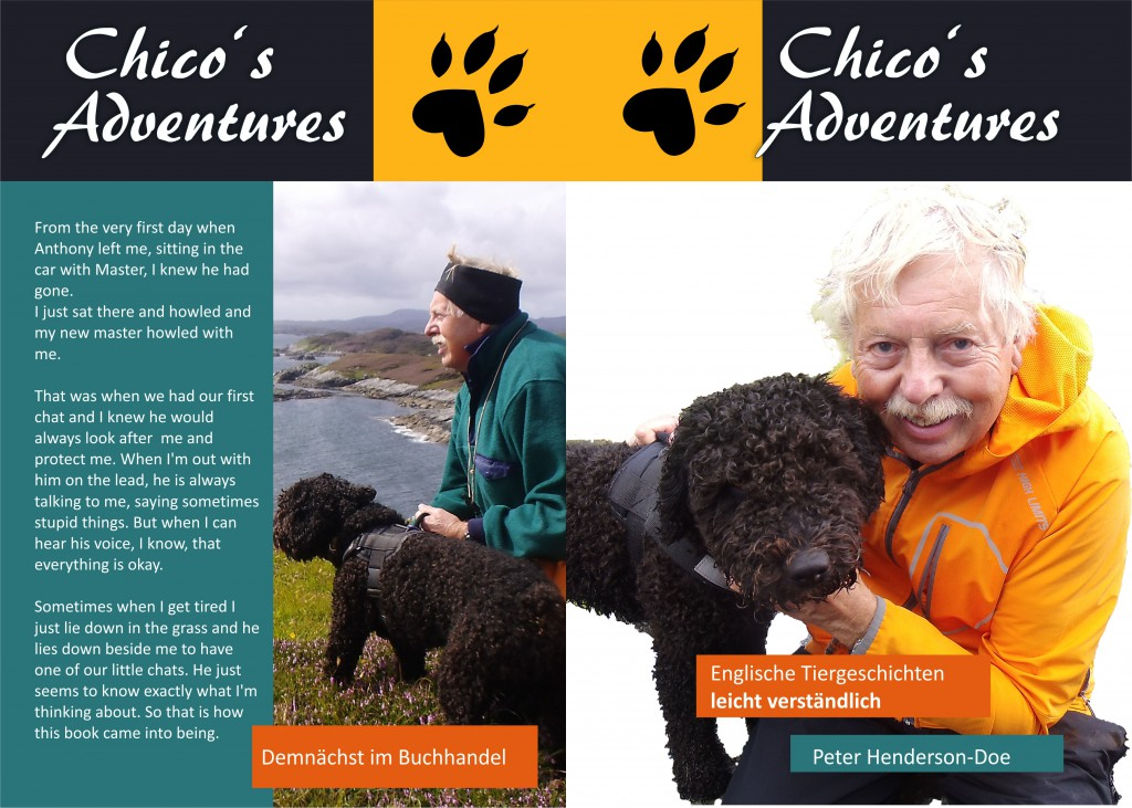 Chico's adventures, englische Tiergeschichten